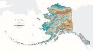us map alaska ak overlap us map