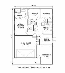 ranch style house plan 3 beds 2 00 baths 1234 sq ft plan 116 258