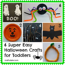 Easy Halloween Party Crafts by Halloween Crafts For Toddlers Easy Halloween Super Easy And Craft