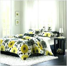 grey bedding ideas grey and yellow bedding ideas fashionable grey and yellow bedroom
