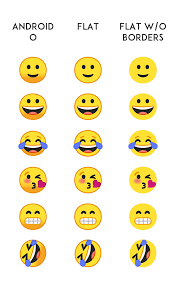 new android emojis android oreo emojis in flat and without borders look much cooler