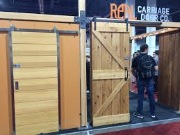 sliding barn door options time to build