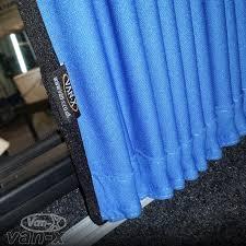 Premium Curtains X Renault Trafic Side Window Premium Curtain Kit