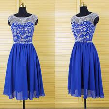 sweet royal blue v back beaded top long from dressperfect on etsy