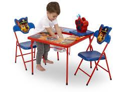 paw patrol kids table set paw patrol 4 piece kids furniture set delta children