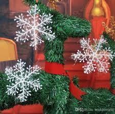 2017 tree decoration opp snowflake for oxmas