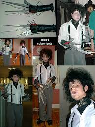 Edward Scissorhands Costume Edward Scissorhands Costume By Glamourboy On Deviantart