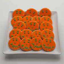 Decorate Halloween Cookies Halloween Gift For Kids 24 Halloween Cookies In A Trick Or