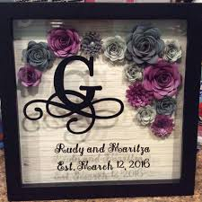 wedding wishes keepsake shadow box shadow box cricut and flower vinyl box crafty craftster