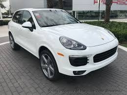 porsche macan white 2018 2018 new porsche cayenne platinum edition awd at porsche west
