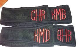 monogram headband monogrammed fleece headband black friday deal cyber monday ear