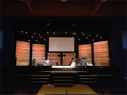 church backdrops thin lines church stage design ideas