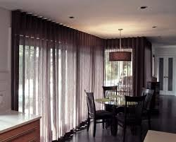 aesthetic living room window treatments ideas using brown linen