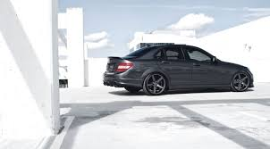 mercedes c class coupe tuning mercedes c class w204 on vossen wheels photo collection
