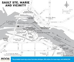 up michigan map printable travel maps of michigan moon travel guides
