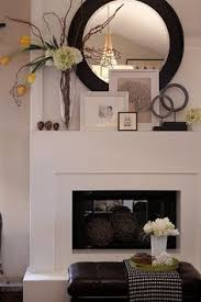 Fireplace Decor 18 Ways To Dress Up Your Fireplace No Fire Necessary Display