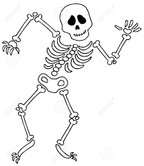 happy halloween clip art black and white bones halloween clip art u2013 festival collections