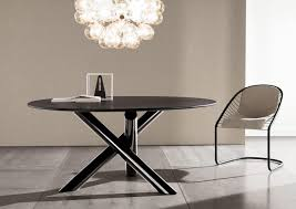 Cream Leather Dining Chairs And Table Dining Room Charming Small Dining Room Decoration Using Round