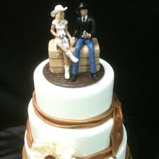 western wedding decorations cheap western wedding cake toppers