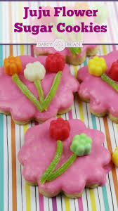 juju flower easy sugar cookie recipe