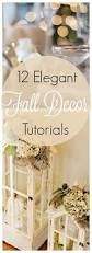 a dozen elegant fall home decor ideas with tutorials