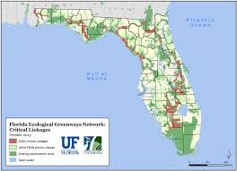 Map Of The Florida Panhandle by Preserving Greenways Conservation Trust For Florida