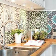 recouvrir du carrelage de cuisine design plaque pour mural
