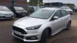 used ford focus st3 used ford focus 2 0 tdci 185 st 3 5dr moondust silver 2017