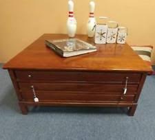 bob timberlake glass top coffee table lexington cherry tables ebay