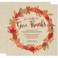 let s give thanks turkey thanksgiving dinner card zazzle