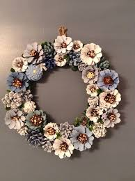 pine cone wreath by bruceandpine on etsy https www etsy