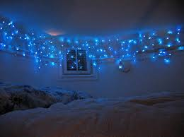 Christmas Decorations For A Blue Room by Christmas Lights Can Be Added To Just About Any Bedroom In Your