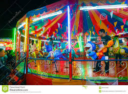 carousel or merry go in thai style editorial stock image