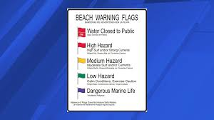 Flags Of Florida 3 Drown 1 Missing In Rough Surf Along Florida Beaches Whnt Com