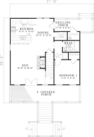 leslie pier raised cottage home plan 055d 0816 house plans and more