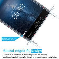 K He Komplett Nokia 8 Panzerglas Schutzfolie Ivoler Panzerglasfolie Amazon De
