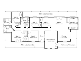 5 bedroom floor plans australia 4 bedroom house plans western australia