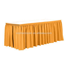 Pleated Table Covers Curly Willow Table Skirt Curly Willow Table Skirt Suppliers And