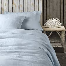 pure linen and cotton duvet covers fitted sheets and pillowcases