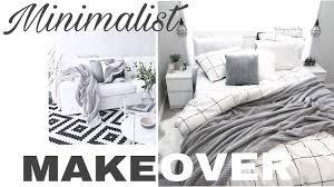 2017 same day footage minimalist budget makeover bedroom