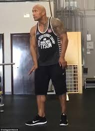 The Rock Gym Memes - dwayne johnson shares comical video of himself dancing after gym