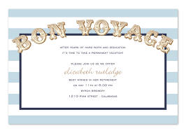 bon voyage party invitations cimvitation