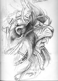 indian tribal drawings drawing ideas d