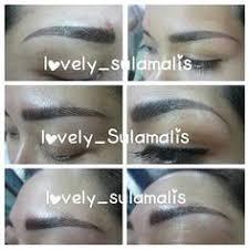 tutorial alis mata untuk wajah bulat jasa sulam alis lovely niea salon jogja 087839464561 xl