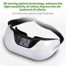 eyes sensitive to light treatment wireless 3d rechargeable green light eye restore vision eye massager