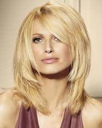 above shoulder length thick hairstyles medium length straight