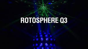 chauvet dj fxarray q5 effect light chauvet dj rotosphere q3 youtube