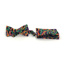 mardi gras bow ties mardi gras design bow tie with hanky southern stylz