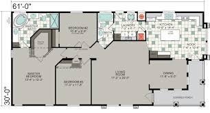 triple wide floor plans manufactured homes floor plans silvercrest triple wide mobile home