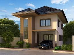 simple two storey house design two story house plans series php unique two story simple modern